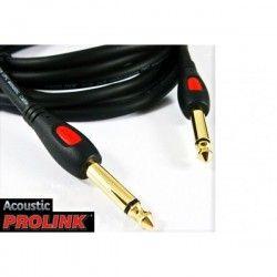 PROLINK ACOUSTIC JACK 6,3 - JACK 6,3MM 10M