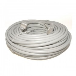 PATCHCORD CAT5E 20M SZARY
