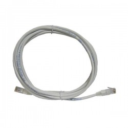 PATCHCORD CAT5E 3M SZARY