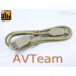 PRZEWÓD USB 1,8 M A-A WTYK - WTYK