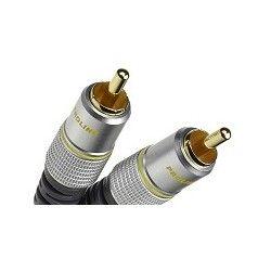 Prolink Exclusive TCV 3010/0,5  przewód 1xRCA/1xRCA o długości 0,5m.