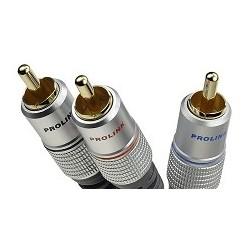 Prolink Exclusive TCV 3610/3  przewód typu Y: 1xRCA/2xRCA do subwooferów o długości 3m.