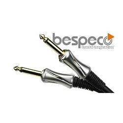 Bespeco PT300 Platinum Series  przewód wtyk 6,3 mm mono/wtyk 6,3 mm mono o długości 3m