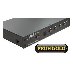 Profigold PGVS33004  przełącznik sygnału Component Video  4x wejścia i 1x wyjście.