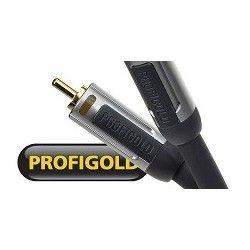 Profigold PROA4110  przewód 1xRCA/1xRCA do subwoofera o dł. 10m.