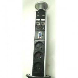 tower 3x230V, 2xRJ45, HDMI, VGA, Jack, 2x USB