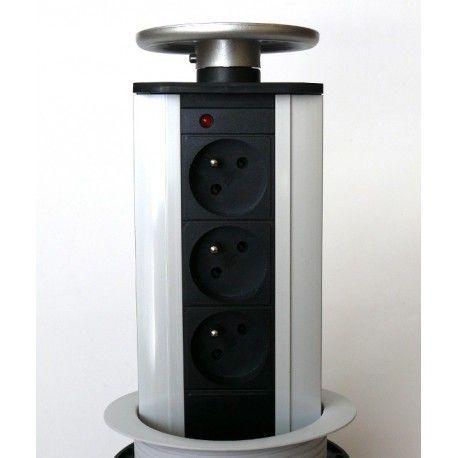 Table box TOWER 3 x 230v